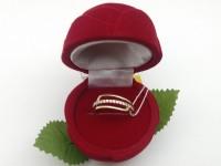 Кольцо с камнями  Золото 585 (14K) вес 1.60 г
