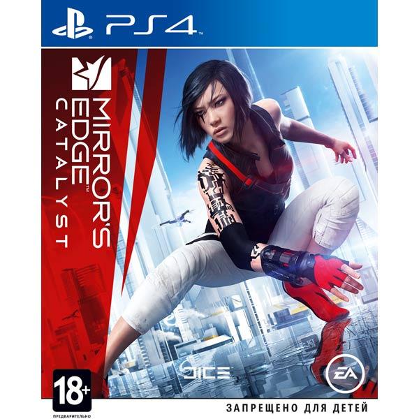Диск PS4 Mirrors Edge: Catalyst