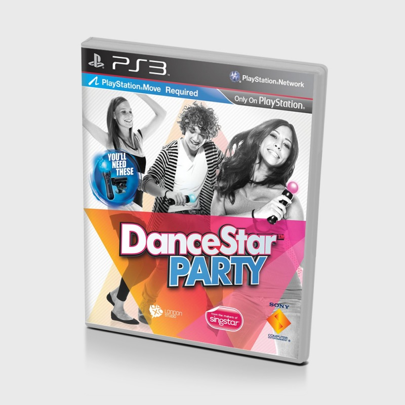 Диск для PS3 Dance Star Party