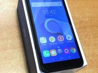 Смартфон Alcatel 1X 5059D, коробка, з/у, чек, б/у, п/ц