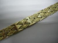 Объемный браслет Золото 585 (14K) вес 37.98 г