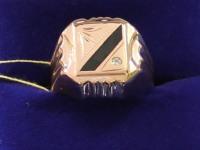 Перстень  Золото 585 (14K) вес 5.30 г