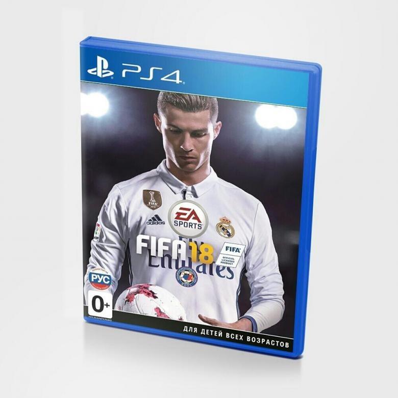 Диск для Sony PS4 FIFA18