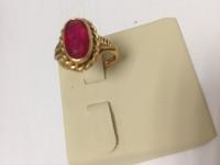 Кольцо с камнем Золото 585 (14K) вес 4.63 г
