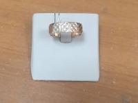 Обруч кольцо рефленое  Золото 585 (14K) вес 4.43 г