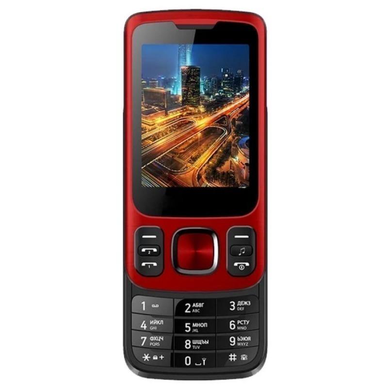 Телефон VERTEX S107 красный