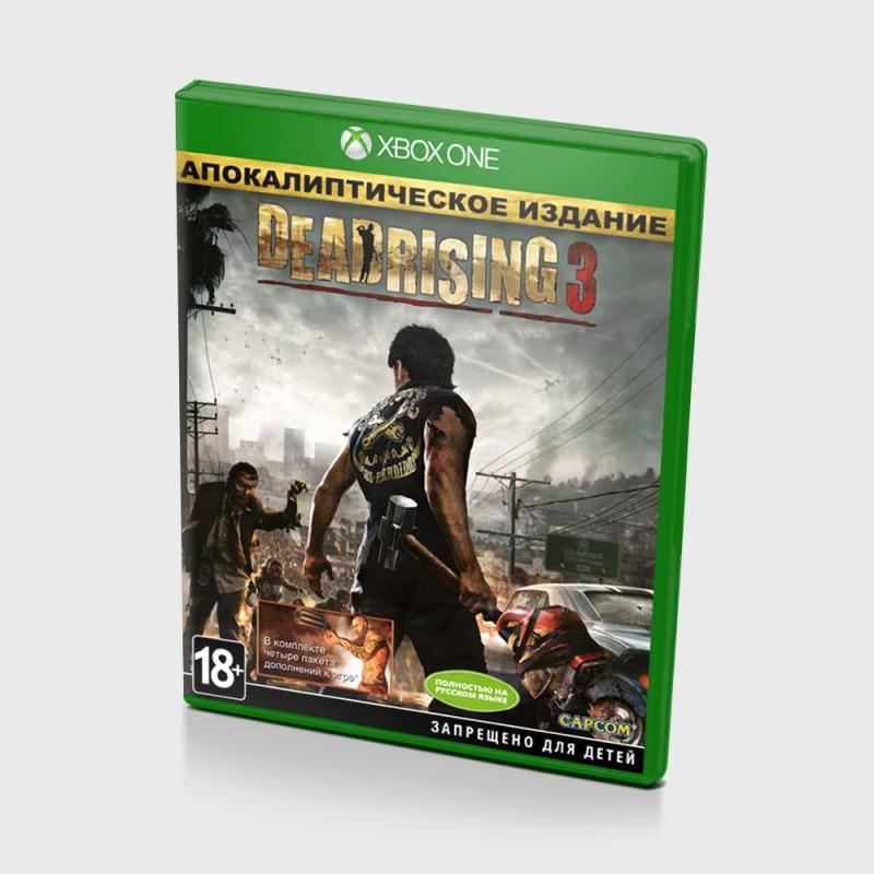 Диск для Xbox One Dead Rising 3