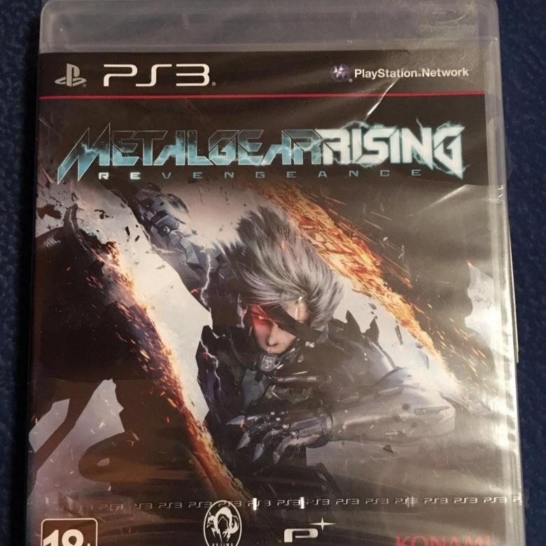 Диск metal gear rising revengeance
