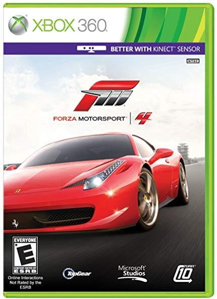Диск Xbox 360 Forza Motorsport 4