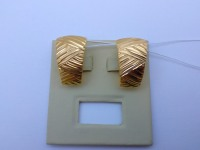 Серьги  Золото 585 (14K) вес 3.36 г