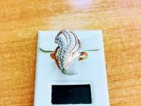 Кольцо   Золото 585 (14K) вес 2.48 г