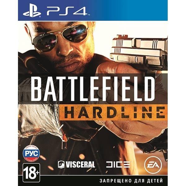 Диск PS4  Battlefield Hardline