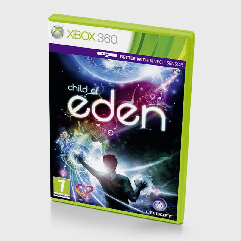 Диск для XBOX 360 Child of Eden