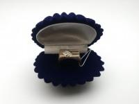 Кольцо с камнями Золото 585 (14K) вес 6.78 г