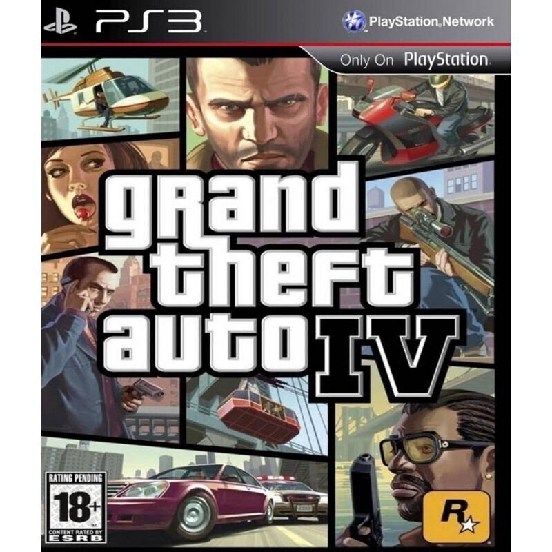 Диск для PS3 Grand Theft Auto IV