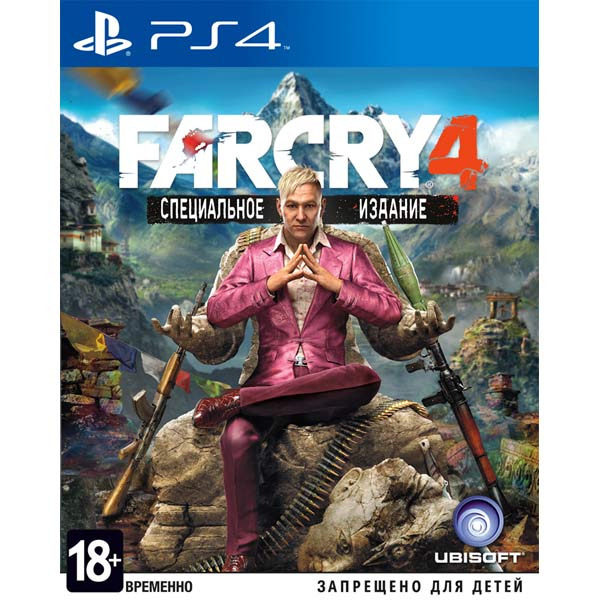 Диск PS4 FARCRY 4