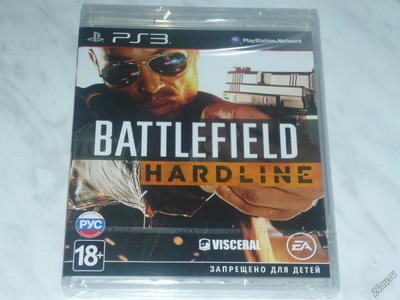 Диск для Sony PS3 BATTLEFIELD HARDLINE