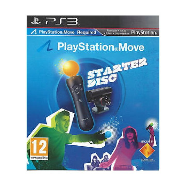 Диск на PS3 Starter Disc для Move