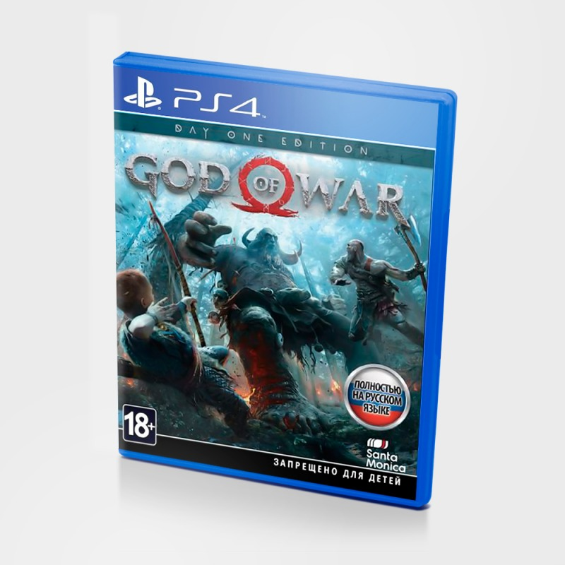 Диск PS4 God of War