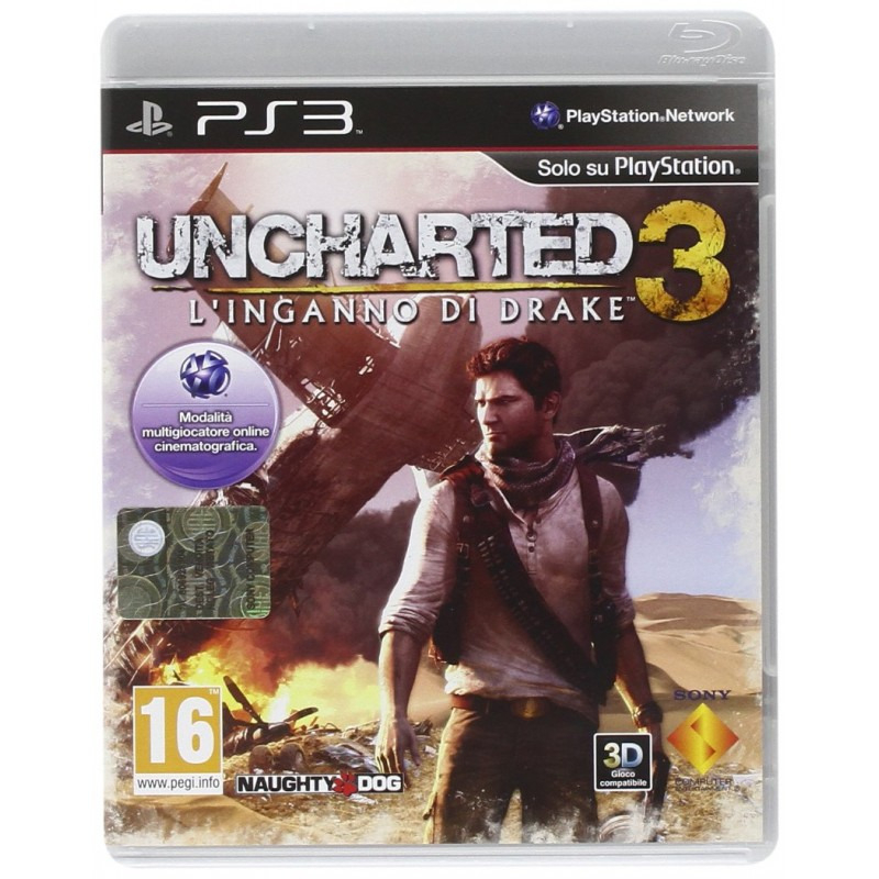 Диск для PS3 Uncharted 3. Иллюзии Дрейка