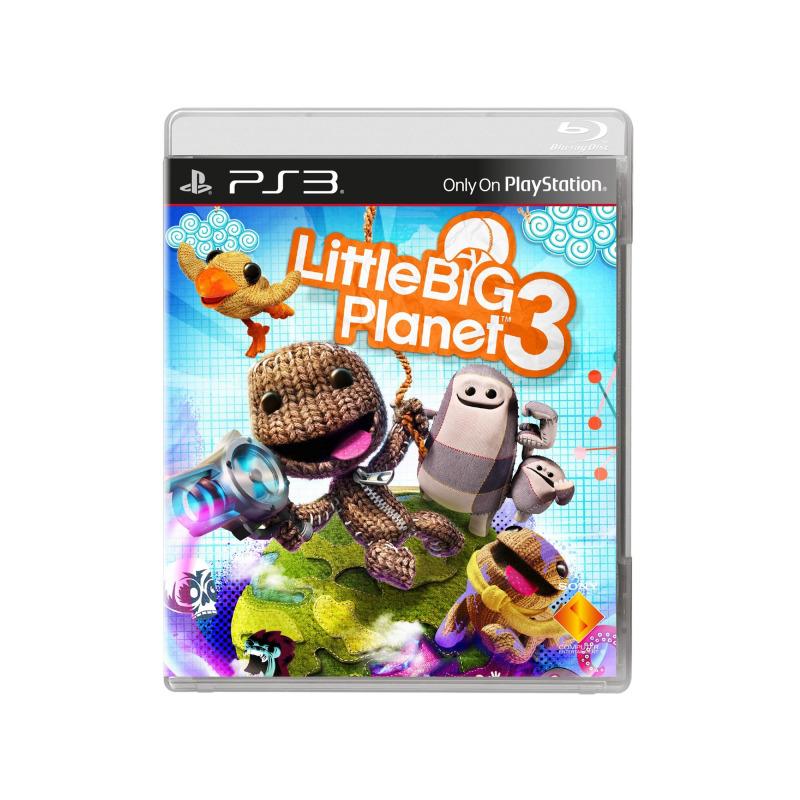 Диск для PS3 Little BIG Planet 3