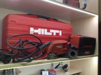 Алмазная шлифмашина Hilti Hilti DG 150 + стабилизатор напряжения DPC 20,кейс