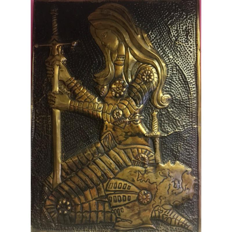 Картина «Девушка с мечем»