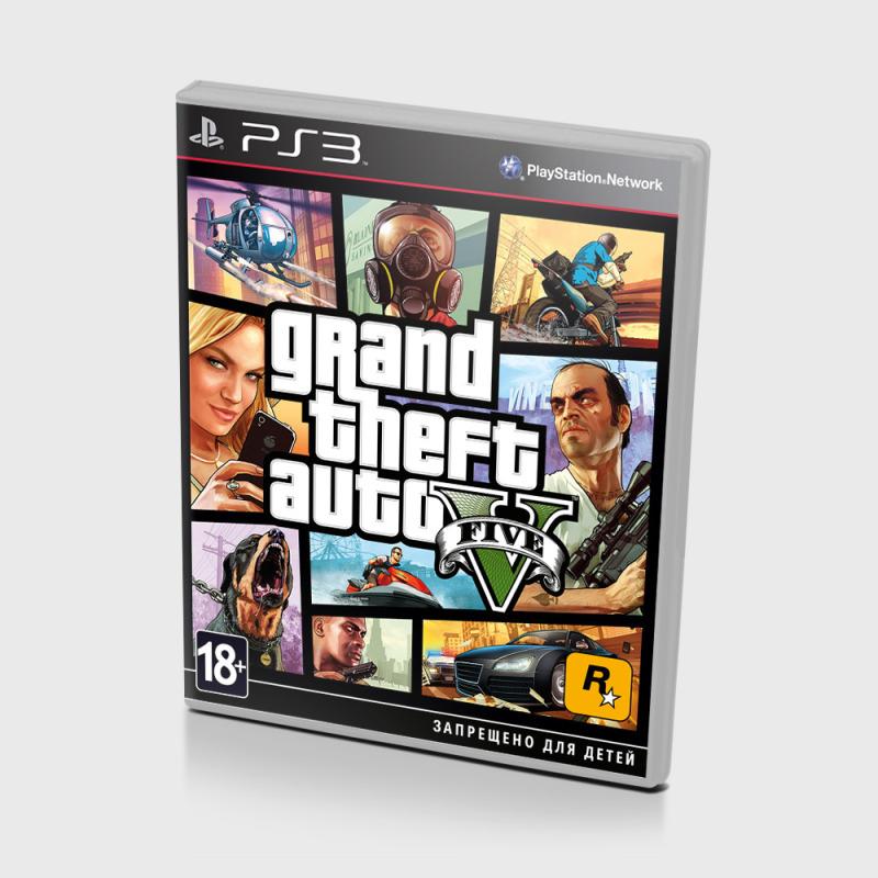 Игра для PlayStation 3 Grand Theft Auto V