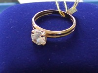 Кольцо с камням.  Золото 585 (14K) вес 2.06 г