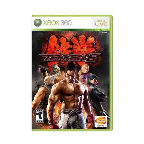 Диск для XBOX 360 Tekken 6
