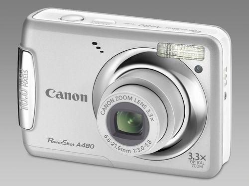 Компактный фотоаппарат Canon PowerShot A480