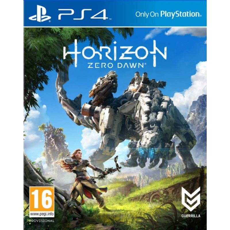 Игровой диск Horizon Zero Dawn