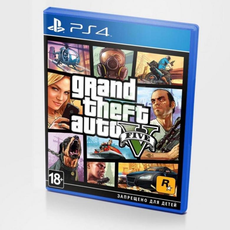 Диск для PS 4 GTA V
