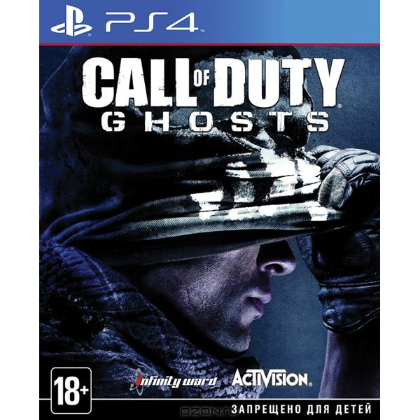 Диск PS4 Call of Duty: Ghosts