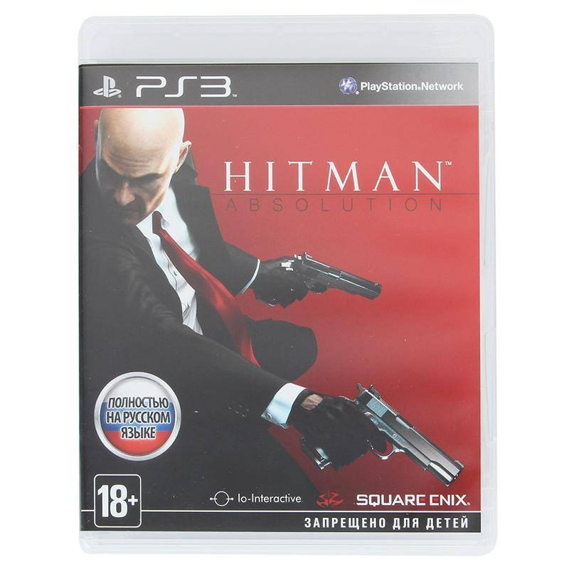 Диск на PS3 Hitman ABSOLUTION
