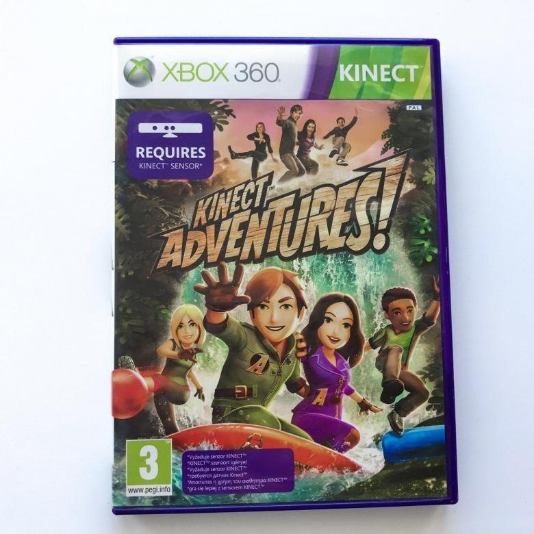 Диск XBox 360 Kinect Adventures!