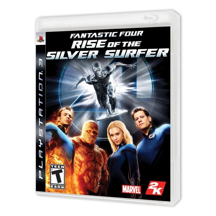 Диск на PS3 Fantastic Four: Rise of the Silver Surfer