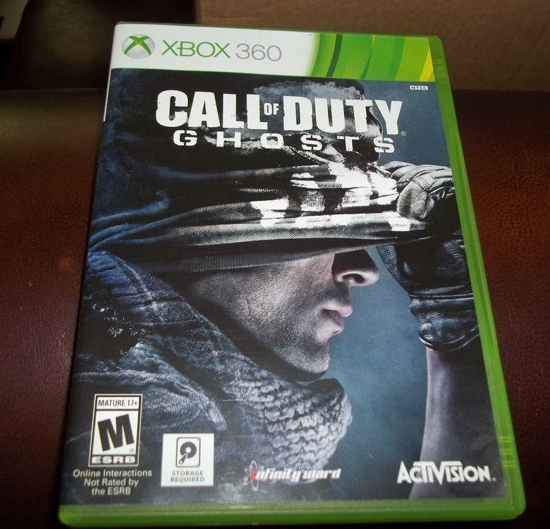 Диск Xbox-360  Call of Dty
