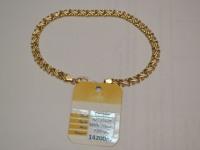 Браслет, б/у, п/ц Золото 585 (14K) вес 7.85 г