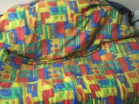 Спальный мешок в рюкзаке