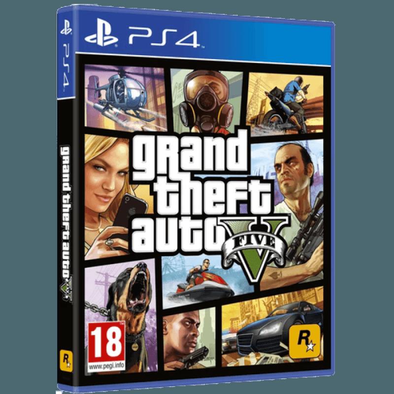 Диск для PlayStation 4 Grand Theft Auto V