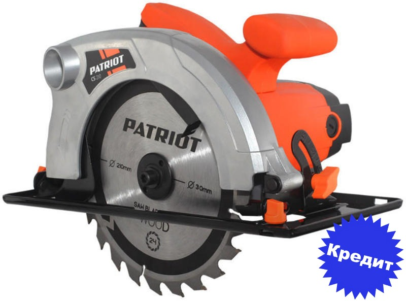 Дисковая пила PATRIOT CS 210