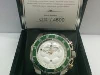 !Часы Bernhard H. Mayer White Stainless Steel Striker Men's Wristwatch 50 mm
