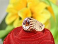 Кольцо с камнями   Золото 585 (14K) вес 7.59 г