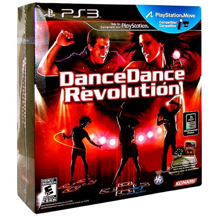 Диск для PS3 Dance Revolution