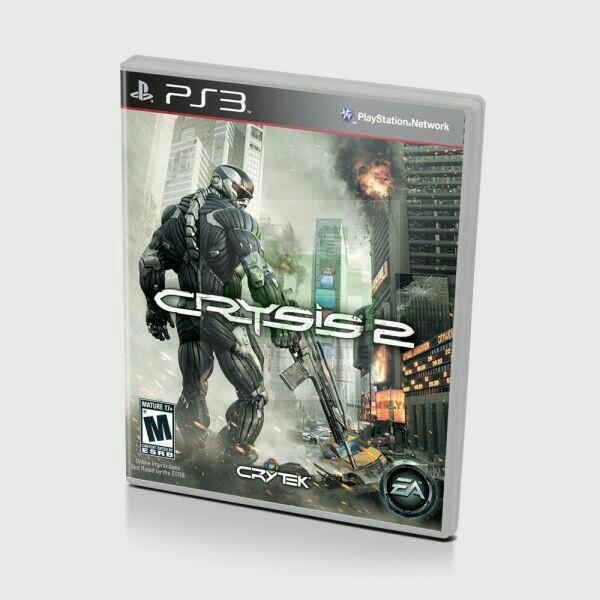Диск для PS3 Crysis 2