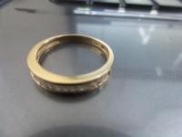 Кольцо с камн поц бу Золото 750 (18K) вес 2.40 гр.