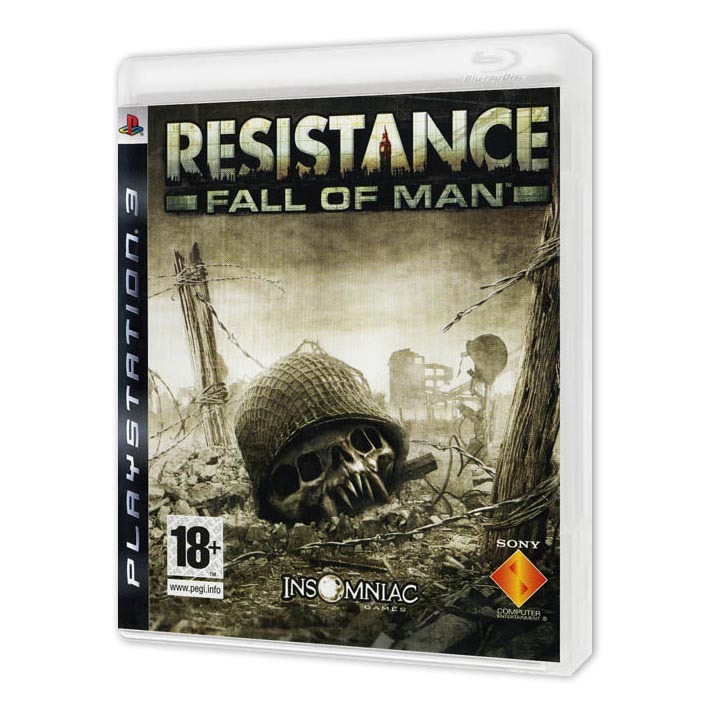 Диск на PS3 Resistance Fall of Man