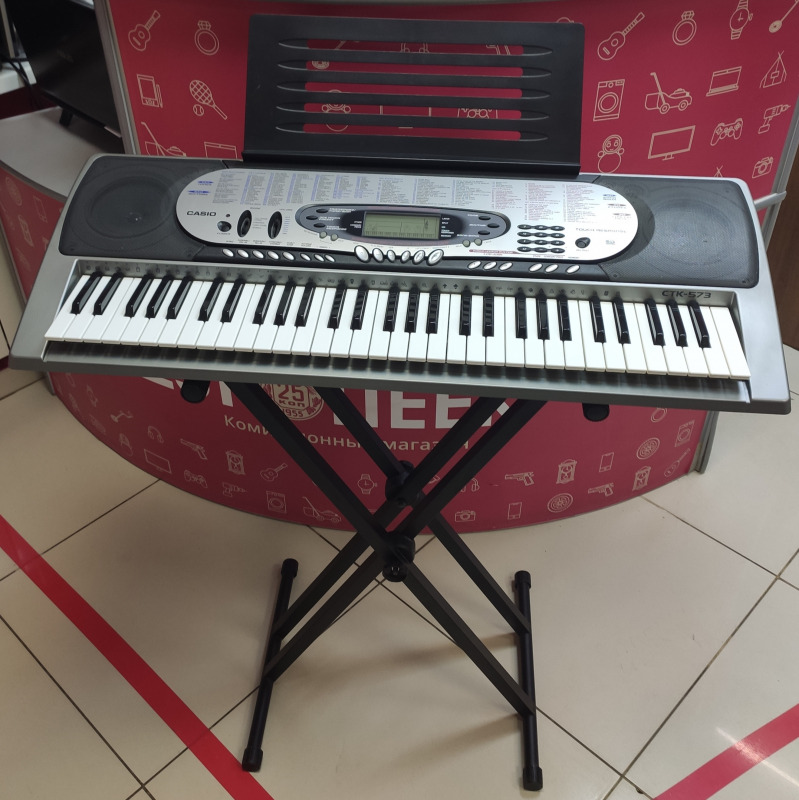 Синтезатор casio CTK-573