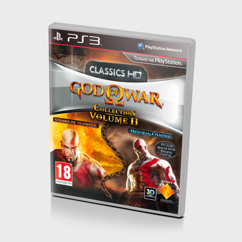 Диск для PS3 Good OF War Collection Volume 2